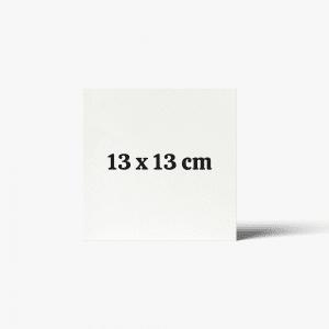 13 x 13 cm